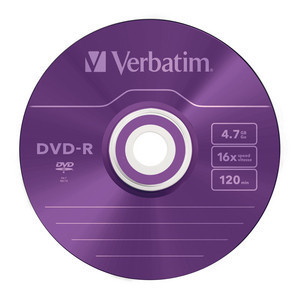 43732 DVD-R Colour Global Disc Surface Purple