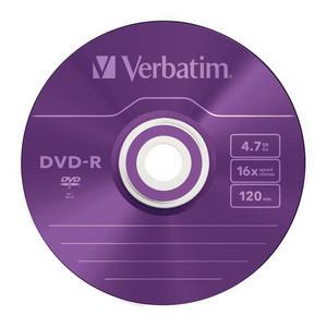 43732 DVD-R Colour Global Disc Surface Purple