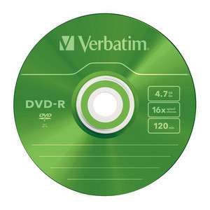 43732 DVD-R Colour Global Disc Surface Green