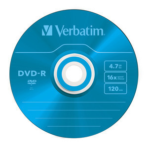 43732 DVD-R Colour Global Disc Surface Blue