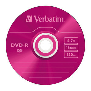 43732 DVD-R Colour Global Disc Surface Pink