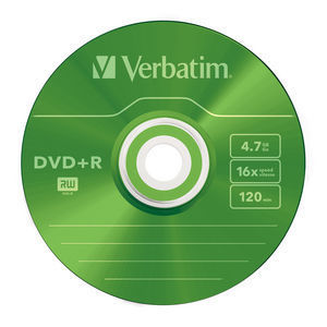 43733 DVD+R Colour Global Disc Surface Green