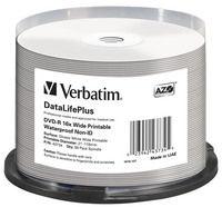DVD-R 16x Wide Printable Waterproof No ID Brand Brand