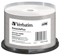 CD-R 52x DataLifePlus Wide Thermal Professional 50pk Spindle - No ID Brand