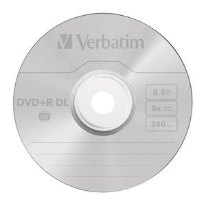 DVD+R DL Matt Silver 8x
