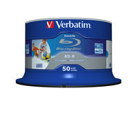 BD-R SL Datalife 25GB 6x Wide Inkjet Printable 50 Pack Spindle
