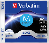 Verbatim MDISC Lifetime archival BDXL 100GB - Single Disc