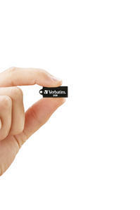 44047 - Hand cut out Micro USB 2GB Black