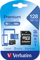 Verbatim Premium  U1 MicroSDHC/SDXC Memory Card