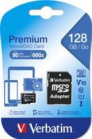 Verbatim Premium U1 MicroSDHC/SDXC Geheugenkaart