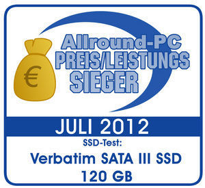 47378 Verbatim. Allround PC Test Winner. Germany. July 2012