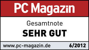 47379 Verbatim. PC Magazine Test Winner. Germany June 2012