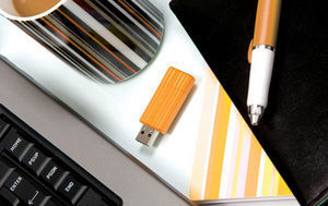 USB PinStripeColours Orange