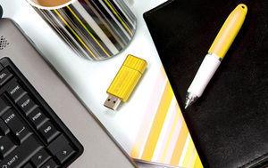 USB PinStripeColours Yellow