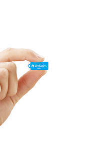 47420 - Hand cut out Micro USB Caribbean Blue