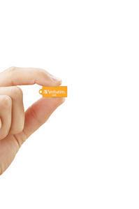 47421-Hand cut out Micro USB Volcanic Orange