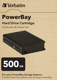 Dysk wymienny PowerBay PowerBay Hard Drive Cartridge 500 GB