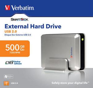 buy verbatim 3 5 external usb hard drive 500gb verbatim external rh verbatim europe co uk USB External Hard Drive Enclosure USB External Hard Drive Enclosure