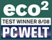 47510 Eco Test winner logo