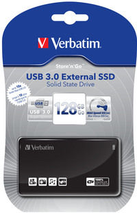USB 3.0 External SSD 128 GB