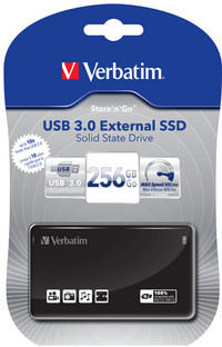 USB 3.0 External SSD 256 GB