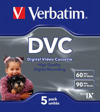 Digital Video Cassette 60 Min 5 Pack