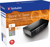 Store 'n' Save SuperSpeed USB�3.0 Desktop Hard Drive 8�TB