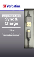MicroUSB Sync and Charge Cable