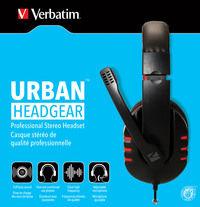 Professionelles Stereo-Headset von Verbatim