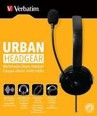 Verbatimove multimedijalne stereo slušalice koje se nose na uhu