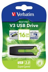 Memoria USB V3 16 GB - Verde eucalipto