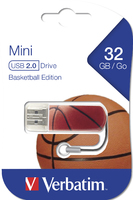Mini USB Drive 32GB Sports Edition - Basketball
