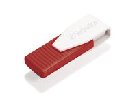 Swivel USB Drive 16 GB – Red