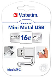 Pami�� USB Mini Metal 16 GB