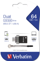 Clé USB à double connectique – OTG/USB 2.0