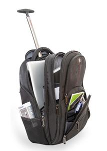 paris 17 notebook rucksack mit rollen verbatim. Black Bedroom Furniture Sets. Home Design Ideas
