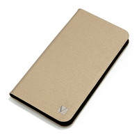 Étui Folio Pocket pour iPhone 6 Plus- or champagne