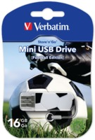 Memoria USB Mini de 16 GB Sports Edition: Fútbol