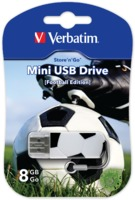 Memoria USB Mini de 8 GB Sports Edition: Fútbol