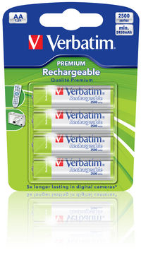 AA Premium Rechargeable Batteries