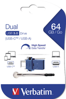 Clé USB à double connectique de type C/USB 3.0