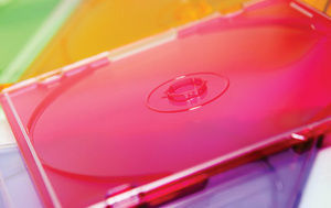 Accessories - Coloured Slim CD DVD Cases 25pk