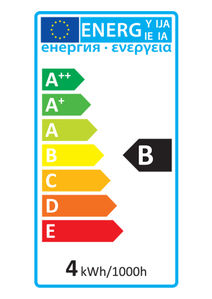 52140 Energy Rating Label