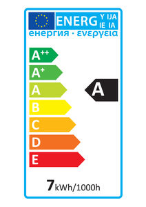52142 Energy Rating Label