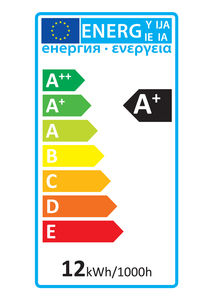 52153 Energy Rating Label