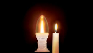 VxRGB Candle LED with Candle cropped