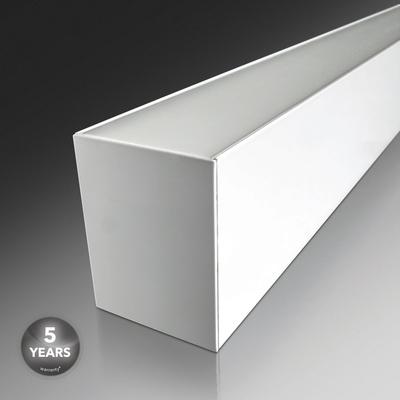 Luminaire Linéaire LED Verbatim 1200mm 24W 3000K 2400lm Blanc