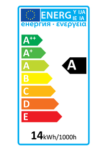 52303 Global Energy Rating Label