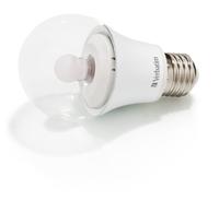 Verbatim LED Classic A Clear Dome Mirageball E27 8.8W 2500K 490lm