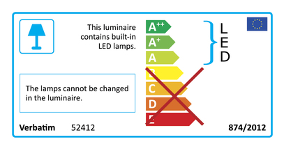 52412 Energy Rating Label